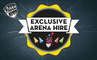 The Big Apple Woking: Exclusive Laserquest Hire From £295